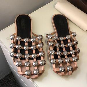 Alexander Wang Grommet Slipper Shoes